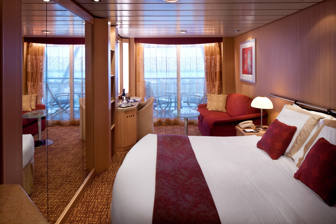 Celebrity solstice mildred 39 s surprise 90th birthday for Alaska cruise balcony room